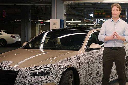 A kiszivárgott fotók után maga a Mercedes is megmutatta az új S-osztályt