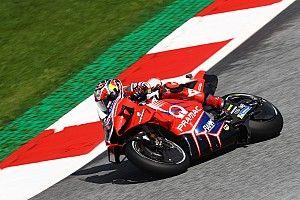 Styria MotoGP: Miller leads Ducati 1-2 in FP1