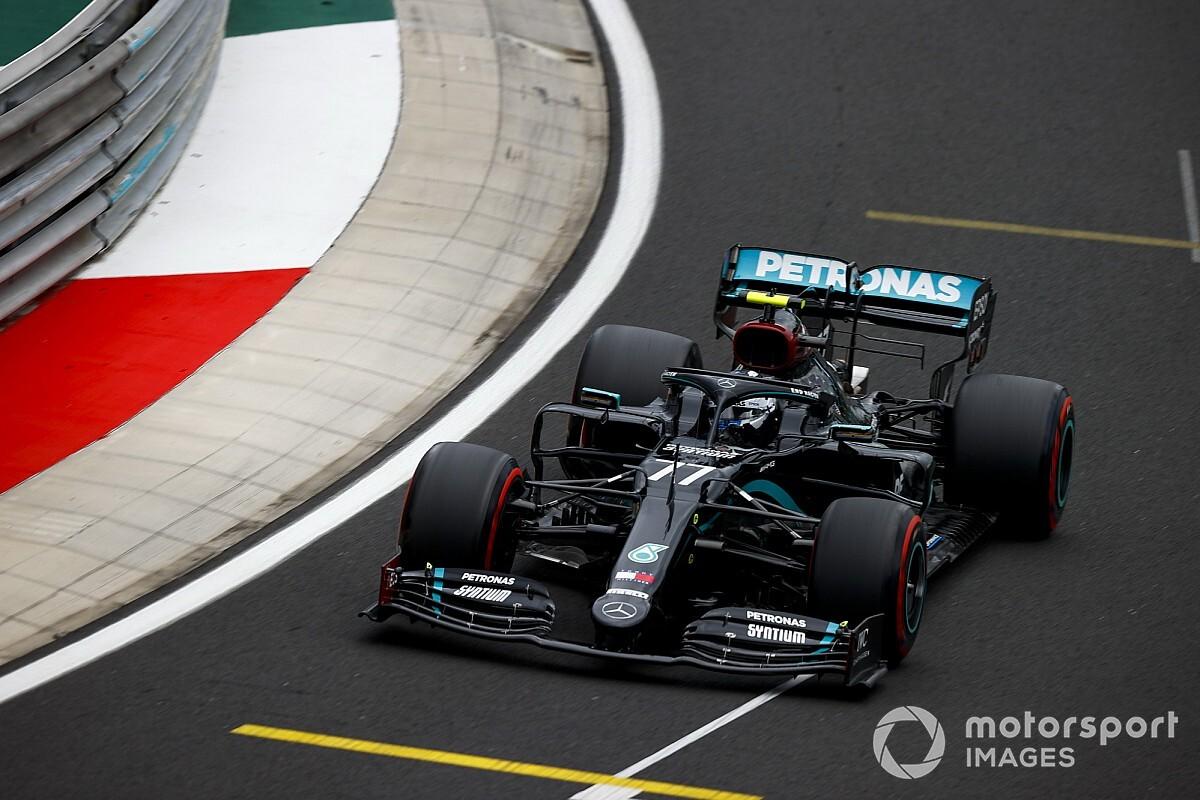 Bottas nyerte az FP3-at a Magyar Nagydíjon Hamilton előtt, Pérez közel, negyedik helyen a Ferrari!