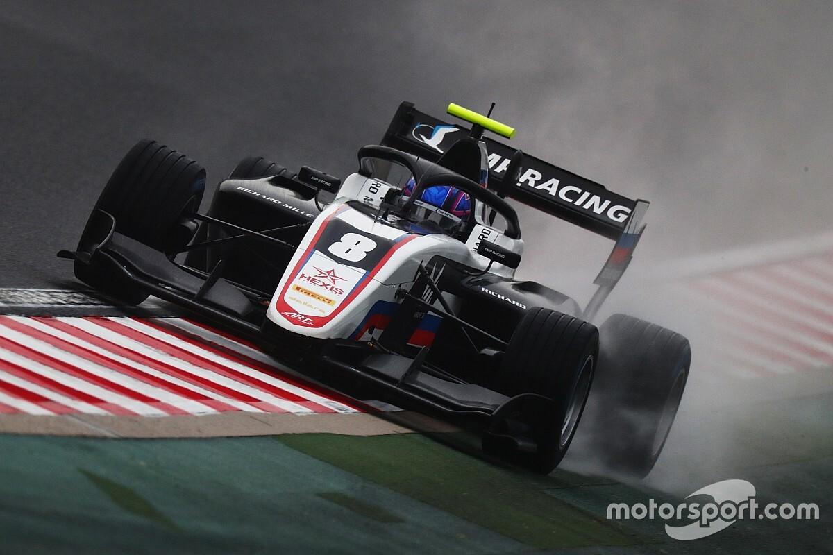 Hungaroring F3: Smolyar takes superb wet pole