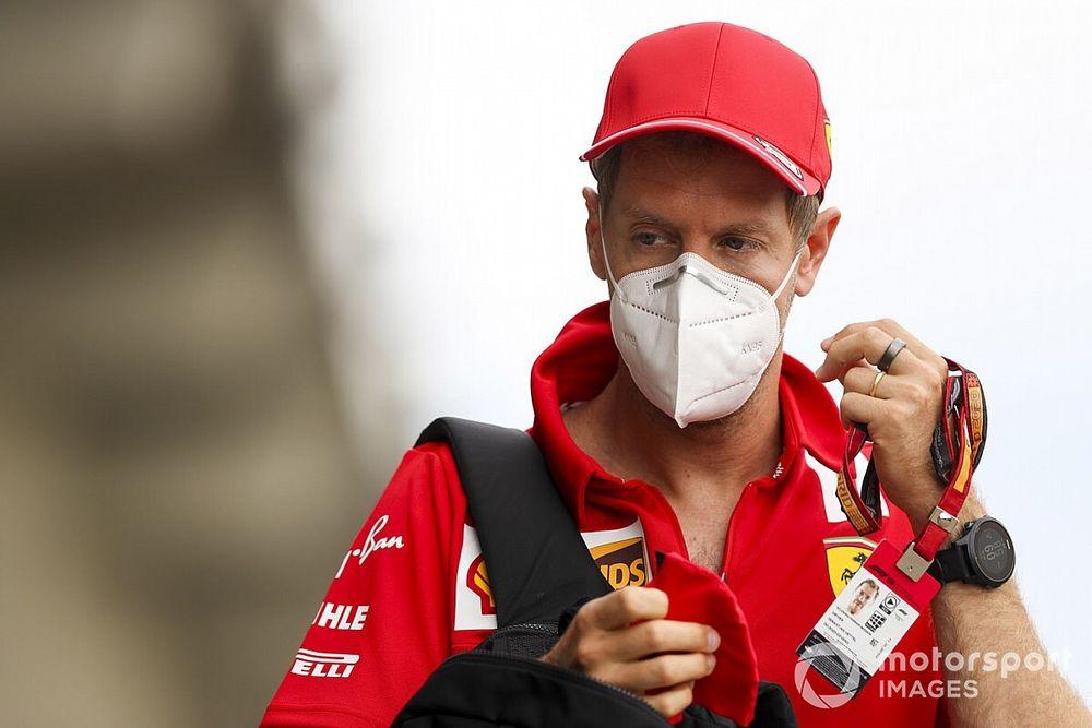 """Vettel: """"Amo Silverstone, occhio al vento per il bilanciamento"""""""