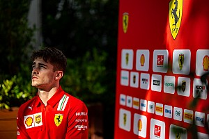 Leclerc gana en su debut en la F1 virtual