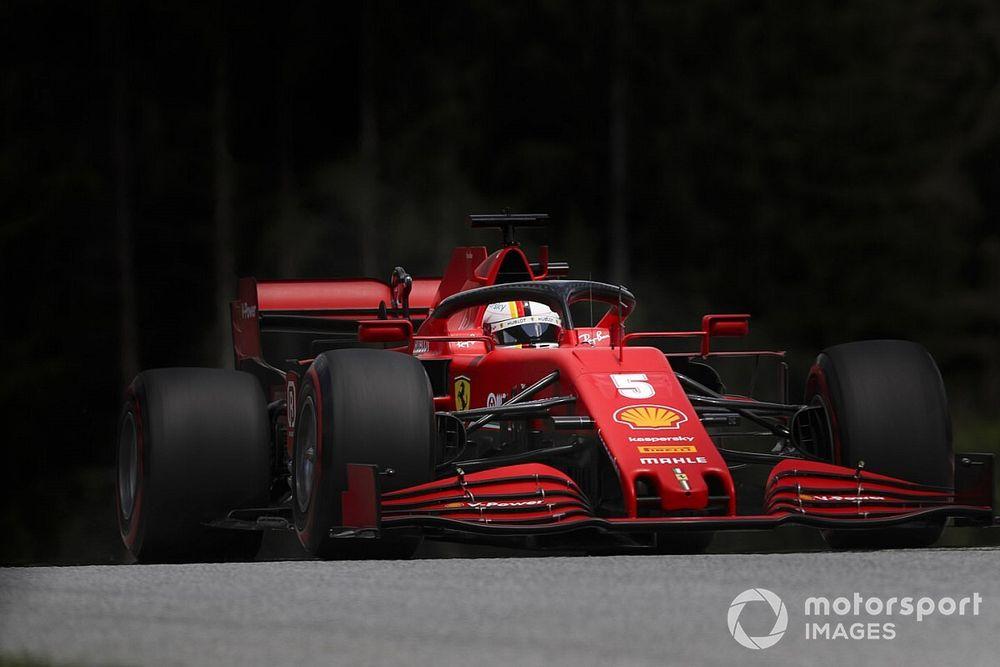 """El desastre de Ferrari en clasificación, """"una sorpresa"""" para Vettel"""
