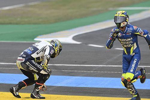 "Abraham ""really upset"" after synchronised formation lap crash"
