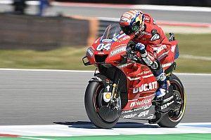 MotoGPチェコFP1:ドヴィツィオーゾが首位発進。中上貴晶は17番手に