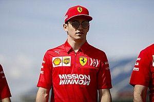 Leclerc nagyon izgatott a Ferrari új motorja miatt