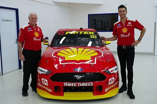 Townsville number change for Coulthard Mustang