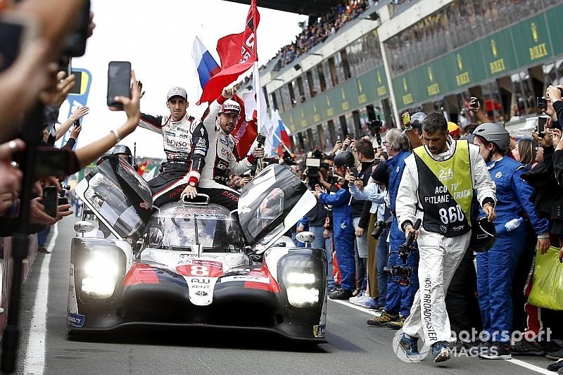 24h Le Mans 2019 Alonsobueminakajima Siegen Nach Reifendrama Erneut