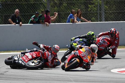 """Marquez: Lorenzo """"not out of control"""" in crash"""