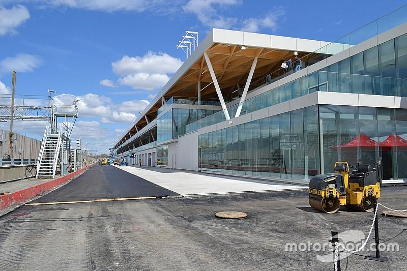 Photos - Découvrez le nouveau paddock du circuit Gilles Villeneuve