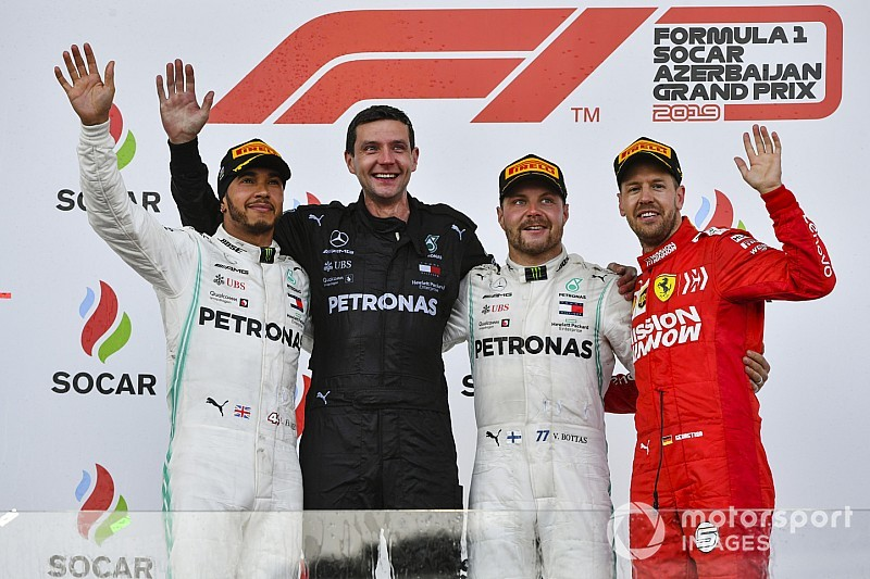 Гран Прі Азербайджану: Боттас утримав позаду Хемілтона та переміг