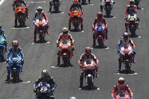 Стартовая решетка Гран При Италии в Муджелло