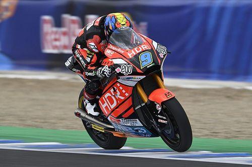 Moto2 Prancis: Pole kedua Navarro, Dimas grid ke-28