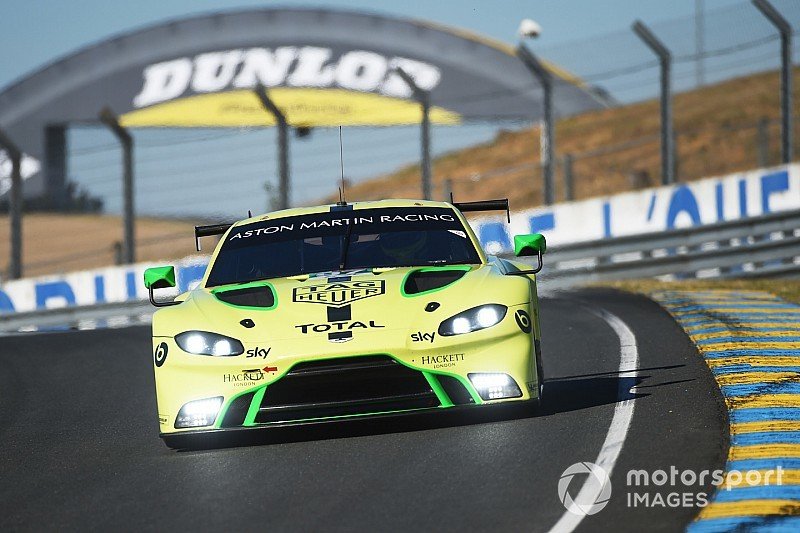 "Aston Martin ""back in the game"" after tough 2018"