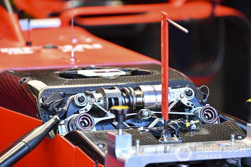 La Ferrari 2020 nasce con la sospensione anteriore idraulica?