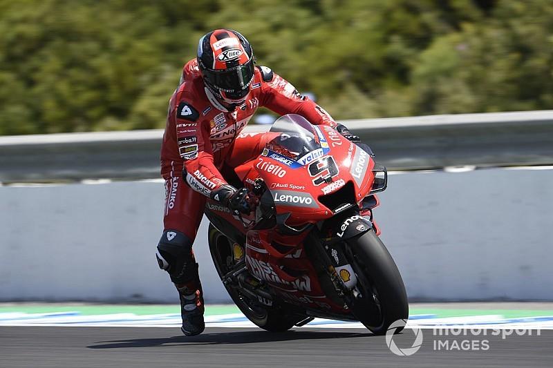 Jerez MotoGP: Petrucci tops FP3, works Yamahas to Q1