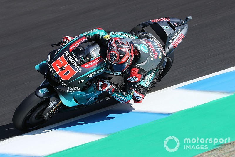 Quartararo en Morbidelli stunten met 1-2 in kwalificatie GP Spanje