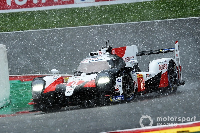 Spa WEC: Alonso, Buemi, Nakajima win snow-hit race