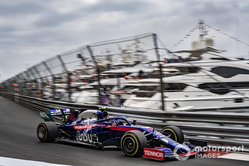 F1モナコFP2速報: ハミルトン首位。レッドブルのガスリー4番手、トロロッソのアルボン5番手