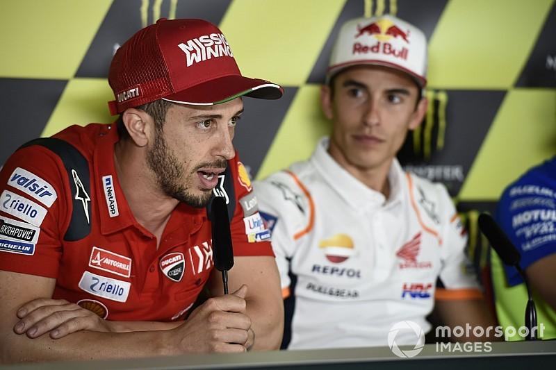 """Dovizioso: """"Marquez è forte, ma noi non ci arrendiamo"""""""