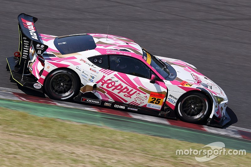 驚速ラップでGT300PPを獲得した松井孝允「明日の決勝はブッちぎりたい」