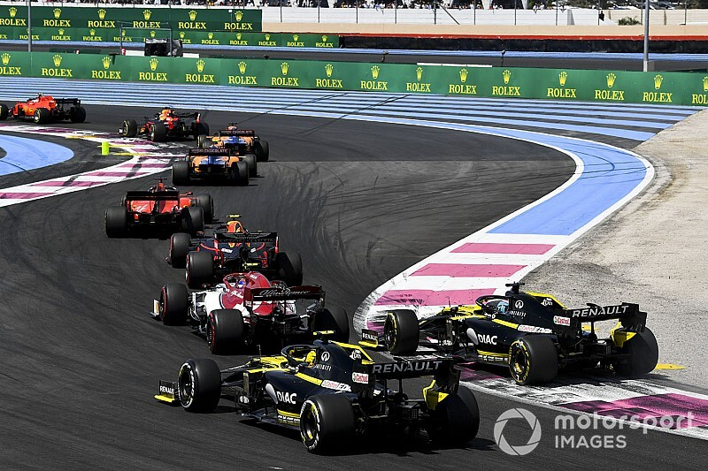 F1 race director Masi open to racing rules change for 2020