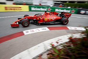 Trois contacts avec le mur plus tard, Vettel sauve la 4e place