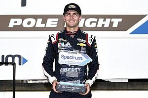 William Byron becomes youngest pole winner of Coke 600