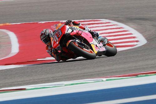 FP1 MotoGP Amerika: Marquez tercepat, Lorenzo terseok