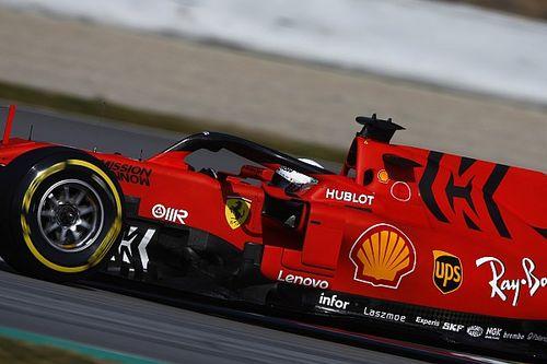 Tes F1 Barcelona: Vettel lebih cepat 0,003 detik dari Hamilton