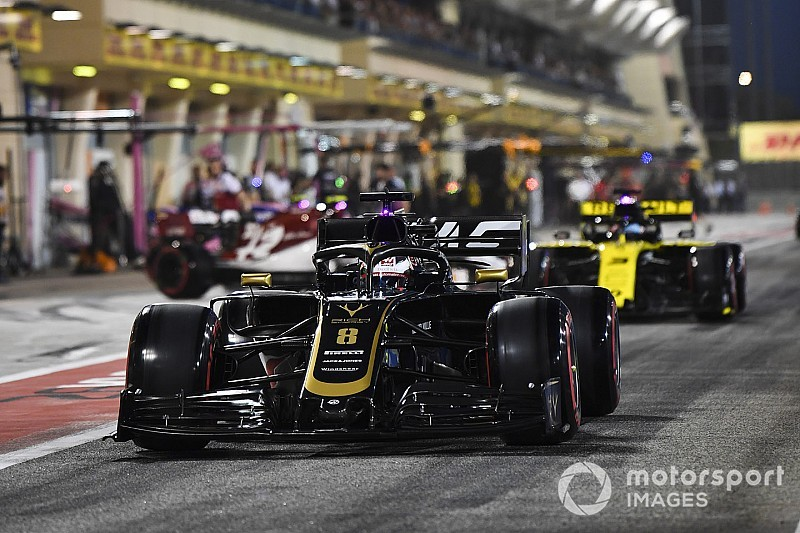 Grosjean penalised for blocking Norris