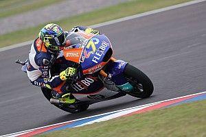 Musim 2020, Baldassarri tetap membalap Moto2