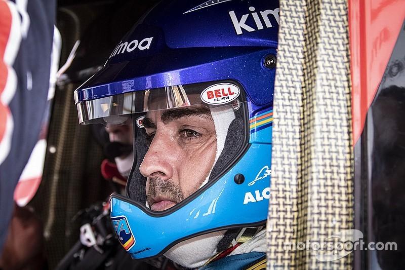 """Alonso: """"Dakar'da her şeyi baştan öğrenmeliyim"""""""