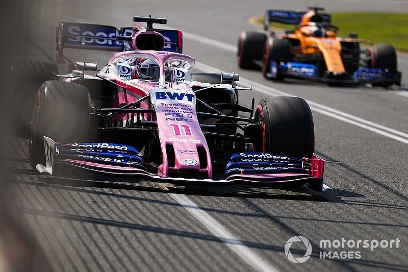 Pérez bejutott a Q3-ba, Stroll rögtön kiesett a Q1-ben a Racing Pointtal