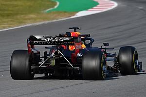 Red Bull con due tiranti enormi per spegnere le vibrazioni del motore Honda