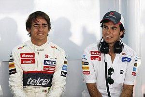 GALERÍA: Los pilotos latinos de Sauber