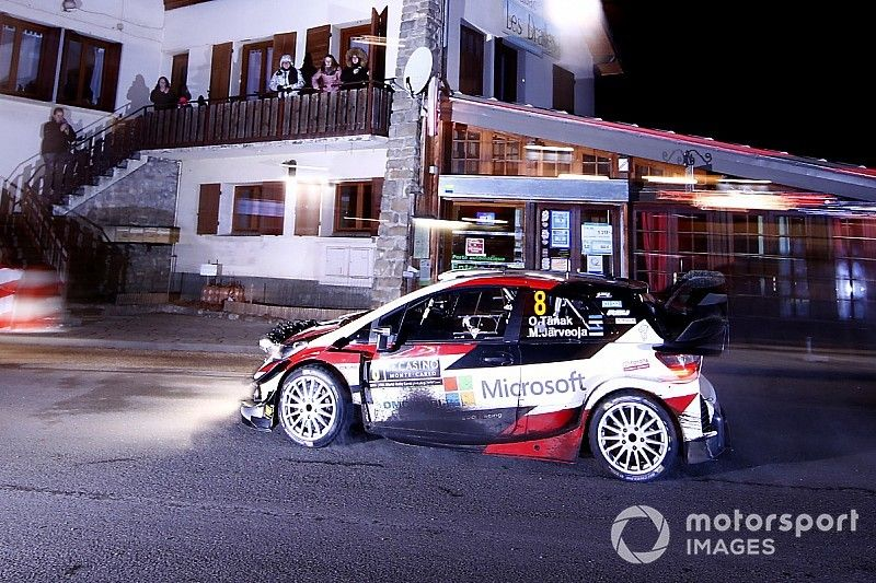 Rallye Monte-Carlo 2019: Ott Tänak zum Auftakt vor Sebastien Ogier
