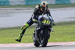 Rossi prioritaskan pemakaian ban bekas