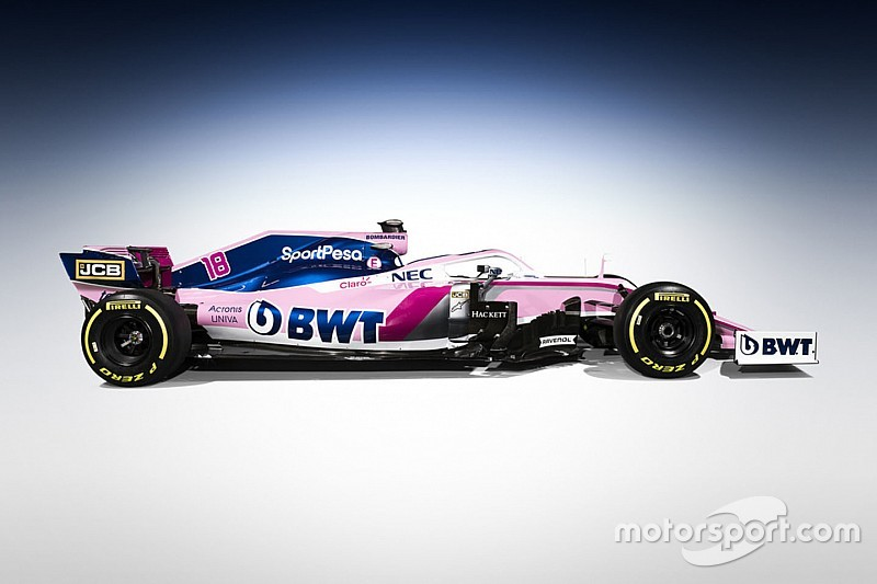 Ex-Force India, Racing Point mostra nova pintura no Canadá