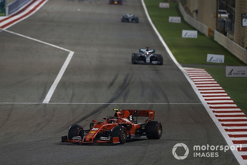 لوكلير اعتقد بأنّ المحرّك سينفجر بالكامل في سباق البحرين