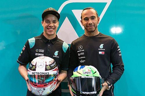 Hamilton 'in voorbereiding' op gedroomde MotoGP-test