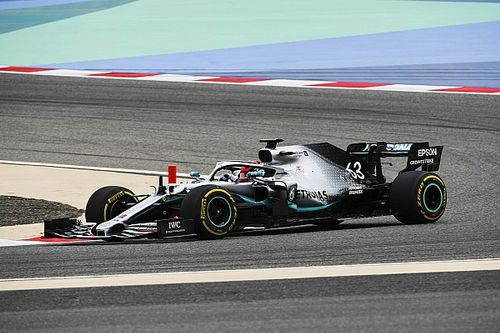 Russell sluit Formule 1-test Bahrein als snelste af