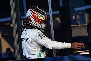 Hamilton: No tengo cosas buenas por decir de los neumáticos 2019