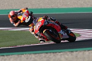 Marquez surprised by Lorenzo on Honda practice debut