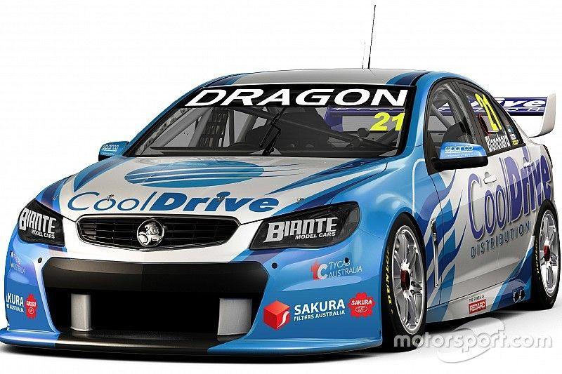 Blanchard's 2016 V8 racer revealed