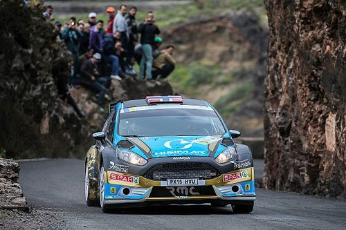 Ostberg crashes out of lead on ERC debut