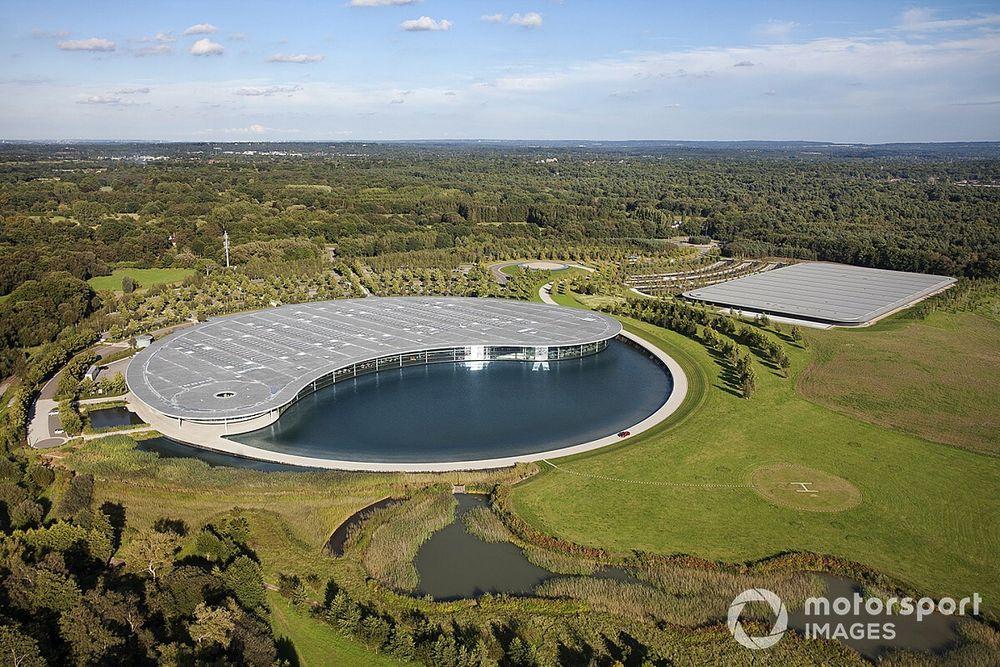 McLaren quiere vender y alquilar su fábrica: ¿será negativo?