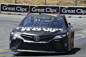 NASCAR Cup Race report Truex passes Allmendinger to win hectic first stage at Sonoma