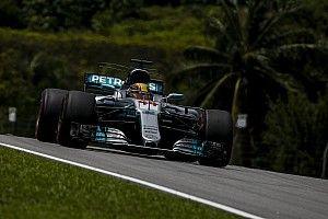 De startopstelling voor de Grand Prix van Maleisië