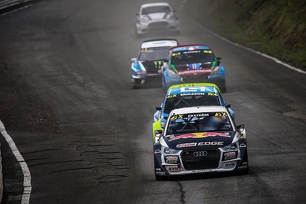 World Rallycross Almanya WRX: Ekstrom, ilk günün sonunda Hansen'in önünde lider